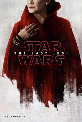 Star Wars: The Last Jedi Poster - Leia (Carrie Fisher)